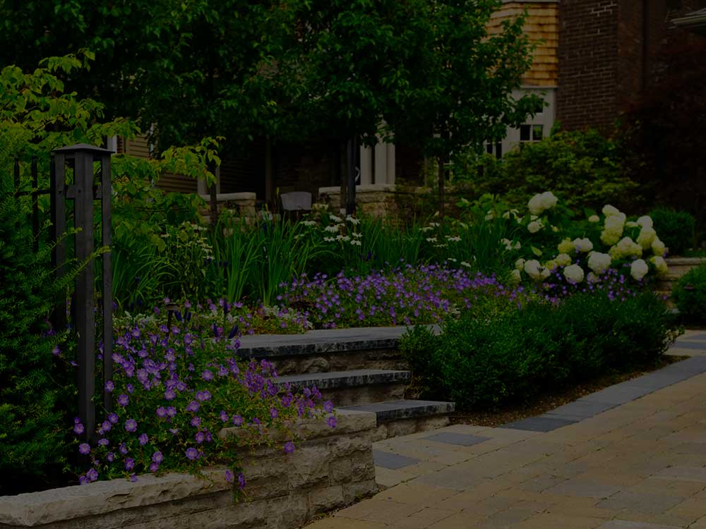 North Reading Commercial Garden Design